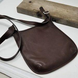 Vintage COACH 9135 Slim Legacy Hippie Flap Saddle